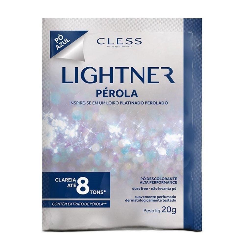 Pó Descolorante Lightner Perola 20gr  - LUISA PERFUMARIA E COSMETICOS