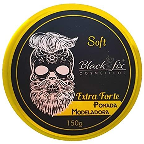 Pomada Modeladora Black Fix Extra Forte 150g  - LUISA PERFUMARIA E COSMETICOS