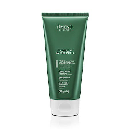 Pré-Shampoo Esfoliante Fortalecedor Força & Detox Amend - 200g  - LUISA PERFUMARIA E COSMETICOS
