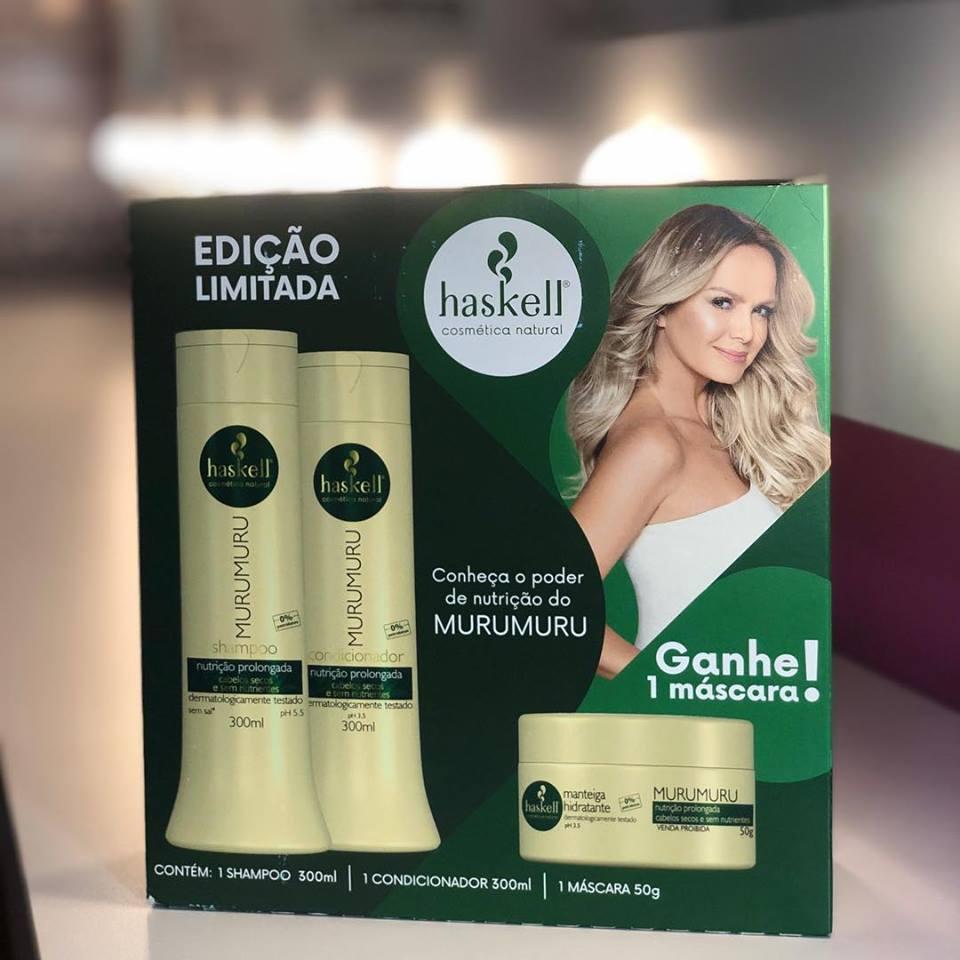 Promopack Murumuru Shampoo 300ml + Cond 300ml + Masc 50gr  - LUISA PERFUMARIA E COSMETICOS