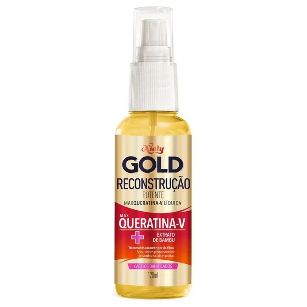 Queratina Liquida Spray Niely Gold 120ml