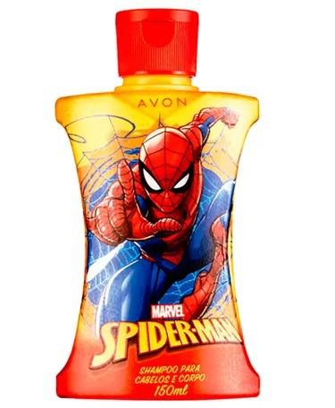 Shampoo 2 em 1 Homem Aranha Cartoon Avon 150ml  - LUISA PERFUMARIA E COSMETICOS