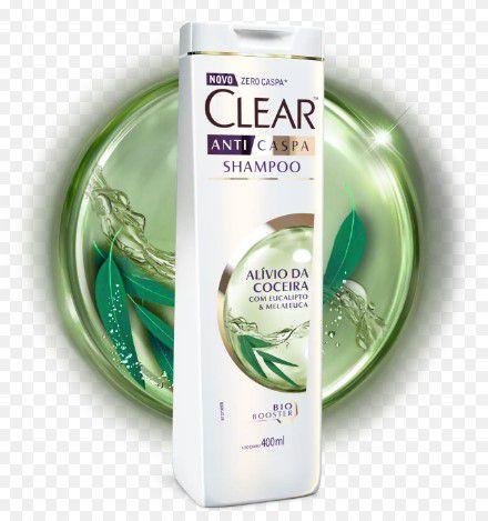Shampoo Clear AntiCaspa Controle de Coceira 200ml