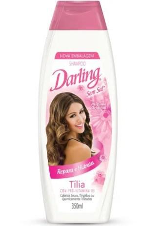 Shampoo Darling Tilia 350ml  - LUISA PERFUMARIA E COSMETICOS