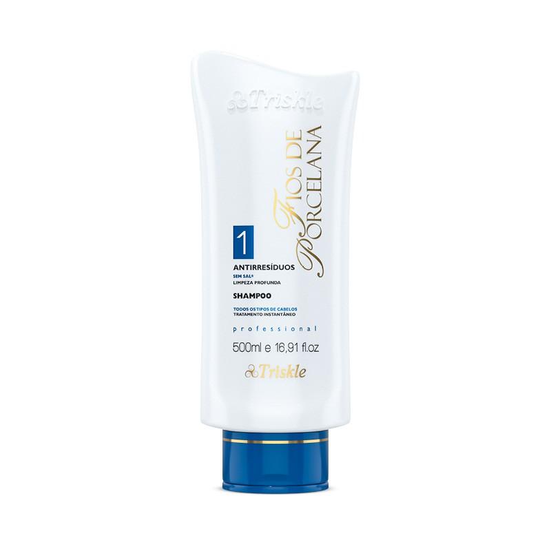 Shampoo Fios de Porcelana Antirresiduos Triskle 500ml