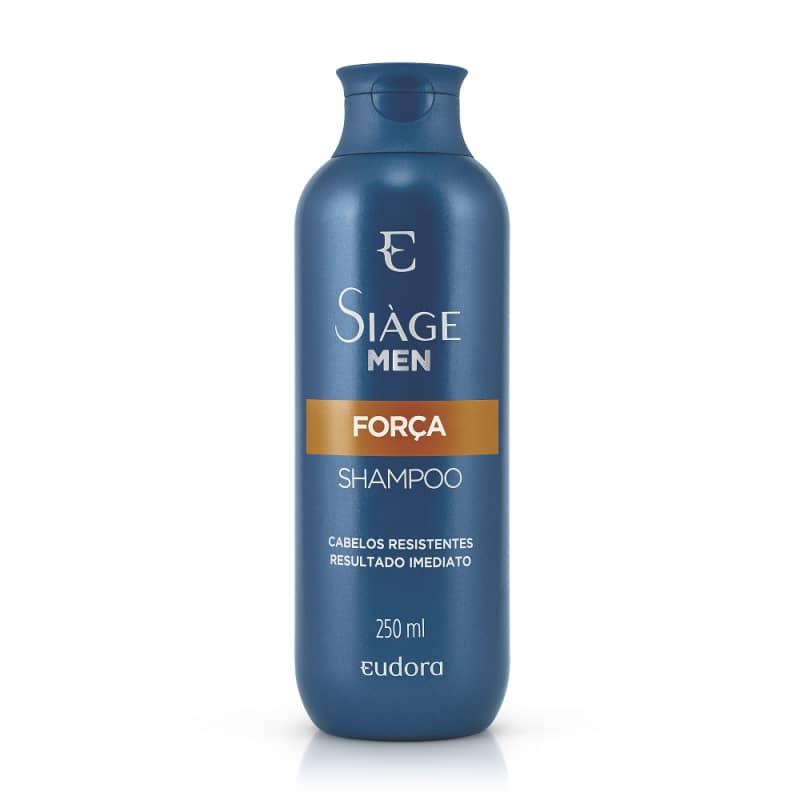 Shampoo Força Siage Men 250ml  - LUISA PERFUMARIA E COSMETICOS