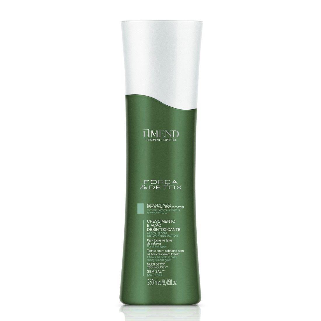 Shampoo Fortalecedor Força & Detox Amend - 250ml