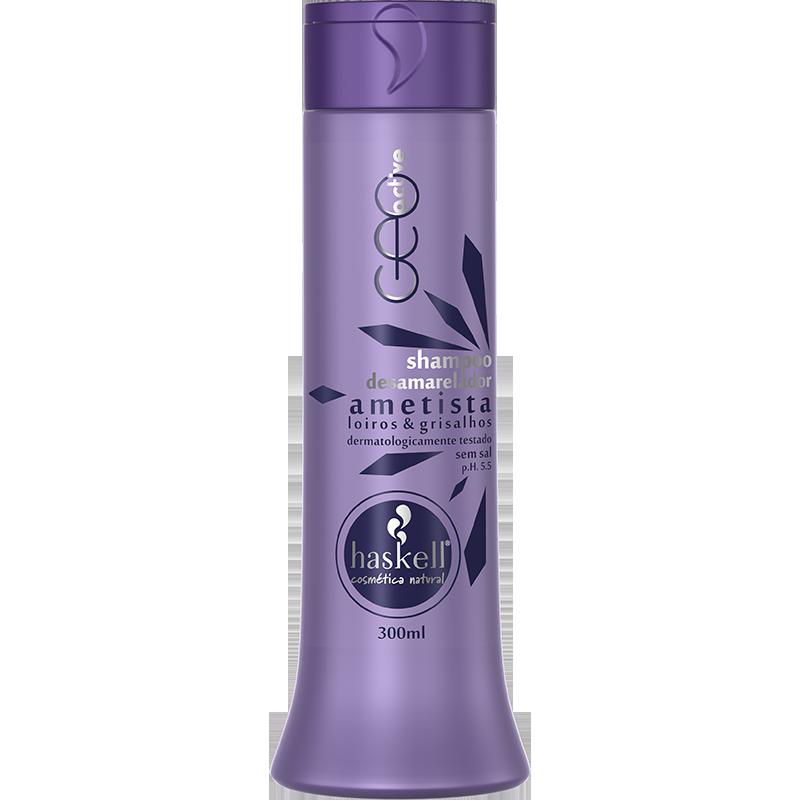 Shampoo haskell ametista 300ml  - LUISA PERFUMARIA E COSMETICOS