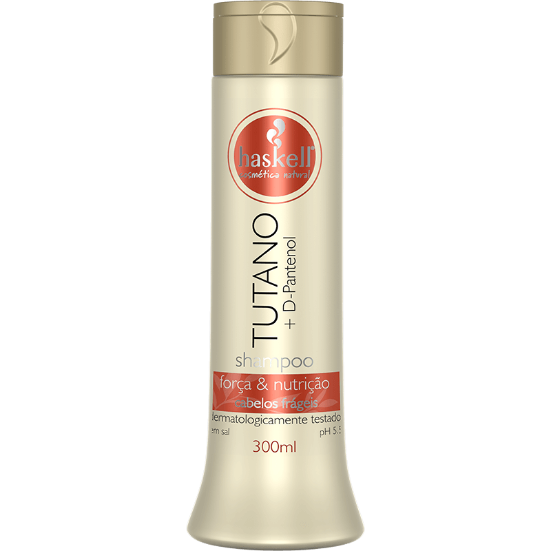 Shampoo Haskell Tutano + D Pantenol 300ml  - LUISA PERFUMARIA E COSMETICOS