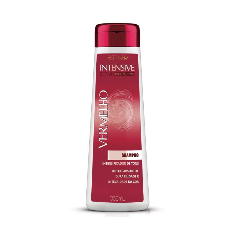 Shampoo Intensive Repair Vermelho Triskle 350ml