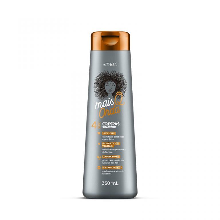 Shampoo Mais Q onde Crespas Triskle 350ml