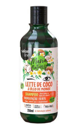 Shampoo Maria Natureza Leite de Coco Salon Line 350ml  - LUISA PERFUMARIA E COSMETICOS