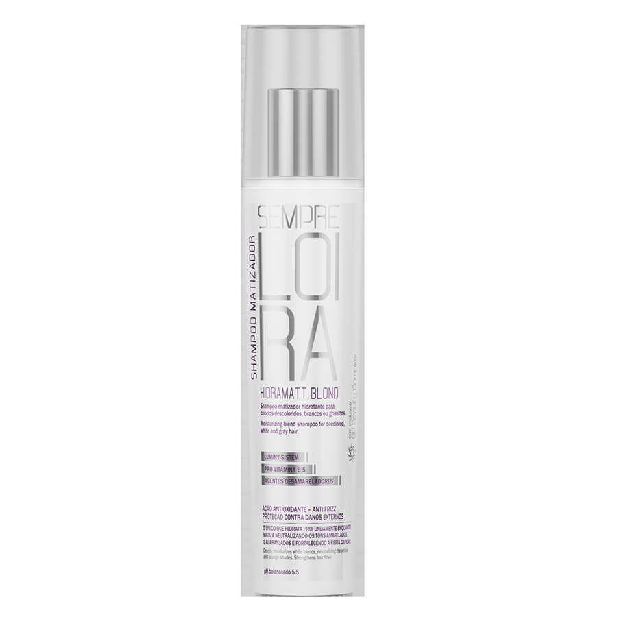 Shampoo Matizador Hydramatt Blond 250ML  - LUISA PERFUMARIA E COSMETICOS