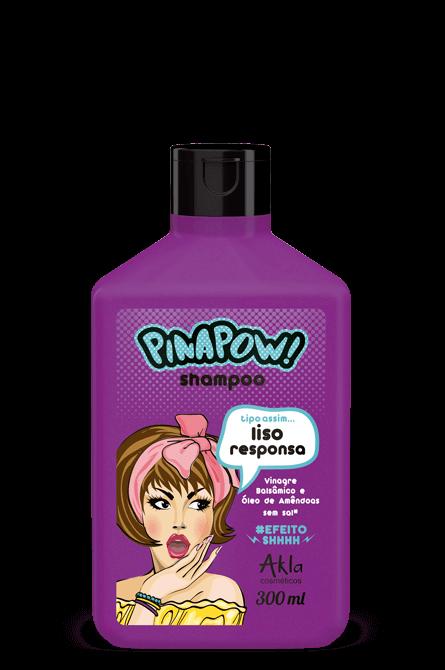 Shampoo Pinapow Liso Responsa 300ml  - LUISA PERFUMARIA E COSMETICOS