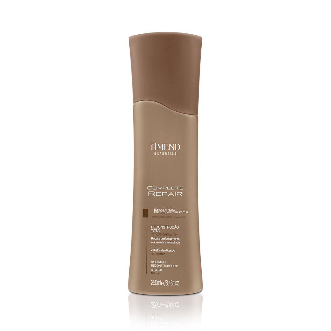 Shampoo Reconstrutor Complete Repair Amend - 250ml  - LUISA PERFUMARIA E COSMETICOS