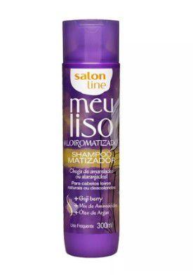 Shampoo Salon Line Meu Liso Matizador #LOIROMATIZADO 300 ML