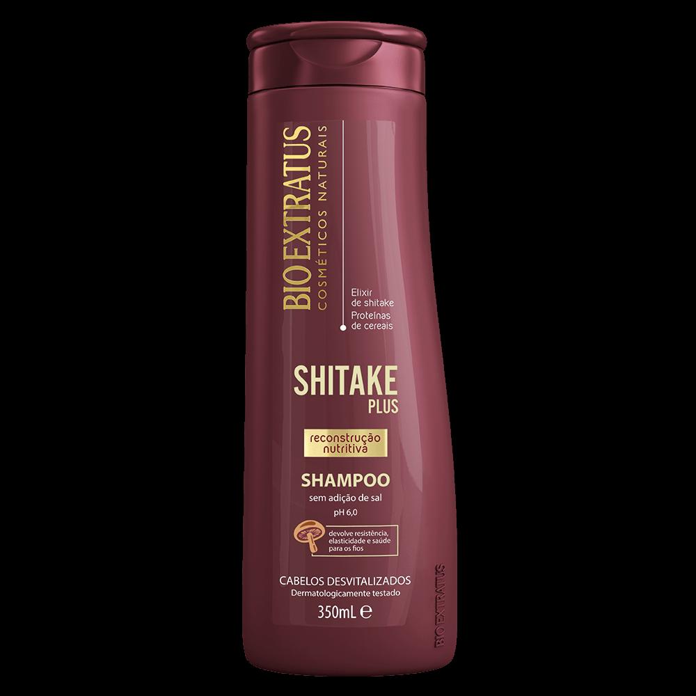 Shampoo Shitake Plus Bio Extratus 350ml