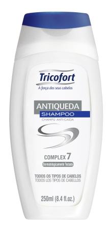 Shampoo Tricofort Antiqueda 250 ML  - LUISA PERFUMARIA E COSMETICOS