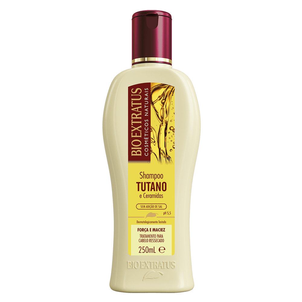 Shampoo Tutano Bio Extratus 250ml  - LUISA PERFUMARIA E COSMETICOS