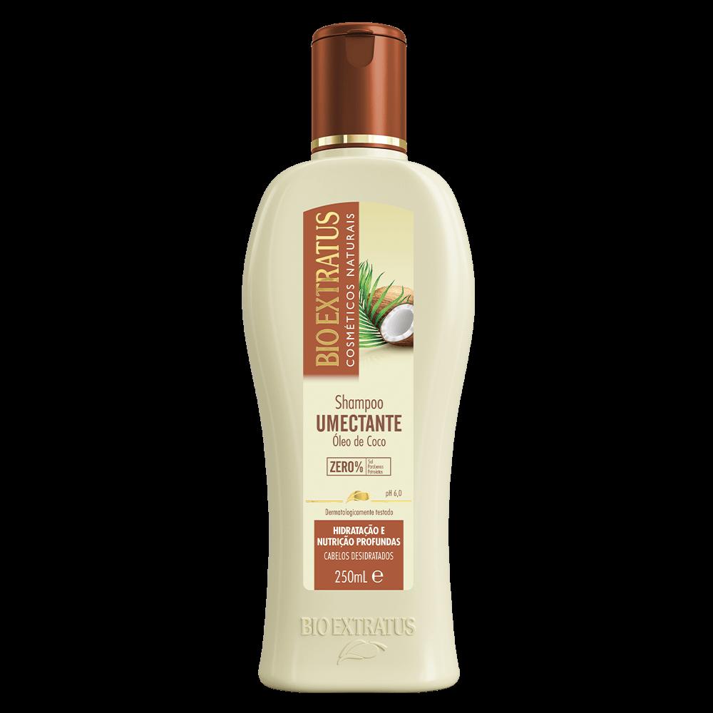 Shampoo umectante de coco Bio Extratus 250ml
