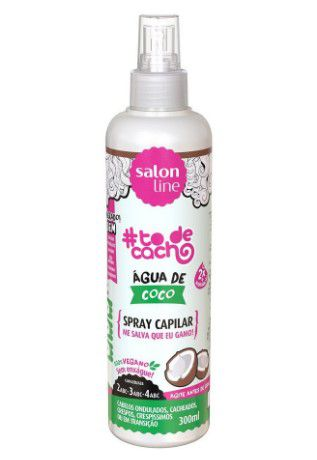 Spray Capilar #todecacho Água de Coco Salon Line 300ml