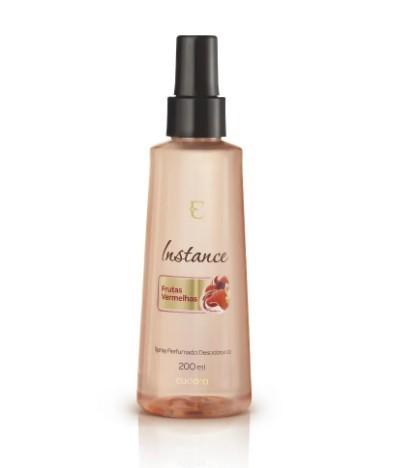 Spray Desodorante Perfumado Instance Frutas Vermelhas 200ml