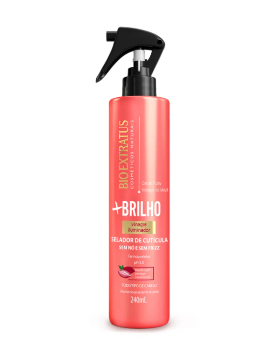Spray Selador de Cuticula + Brilho Bio Extratus 240ml