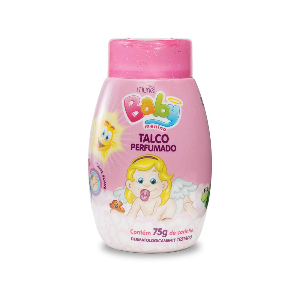 Talco Perfumado Muriel Para Bebê - Menina 75g