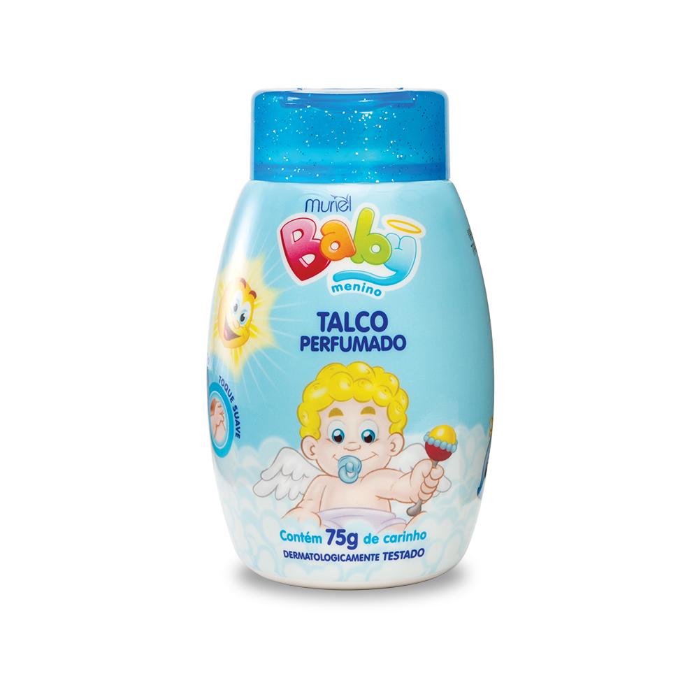 Talco Perfumado Muriel Para Bebê - Menino 75g