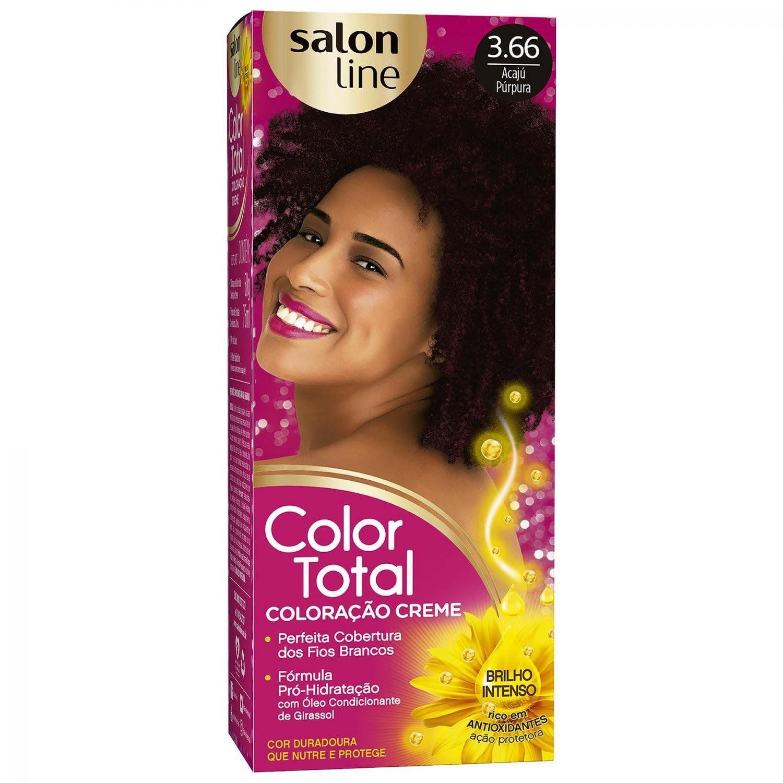 Tintura Color Total Salon Line  - LUISA PERFUMARIA E COSMETICOS
