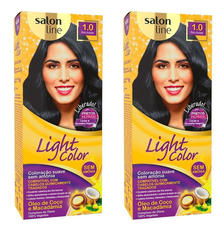 Tonalizante Salon Line Light Color  - LUISA PERFUMARIA E COSMETICOS