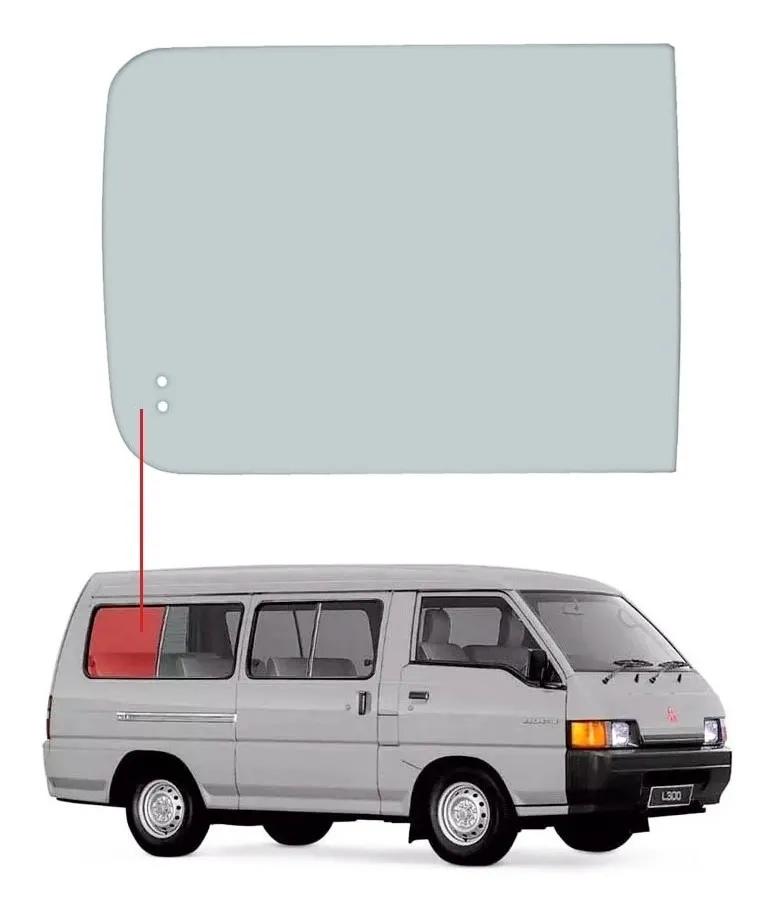 4° Vidro Janela Movel Direito Mitsubishi L300 86/01 Vetroex
