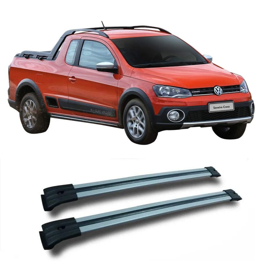 Rack Travessa Larga Para Longarina Volkswagen Saveiro Cross 2015 Eqmax
