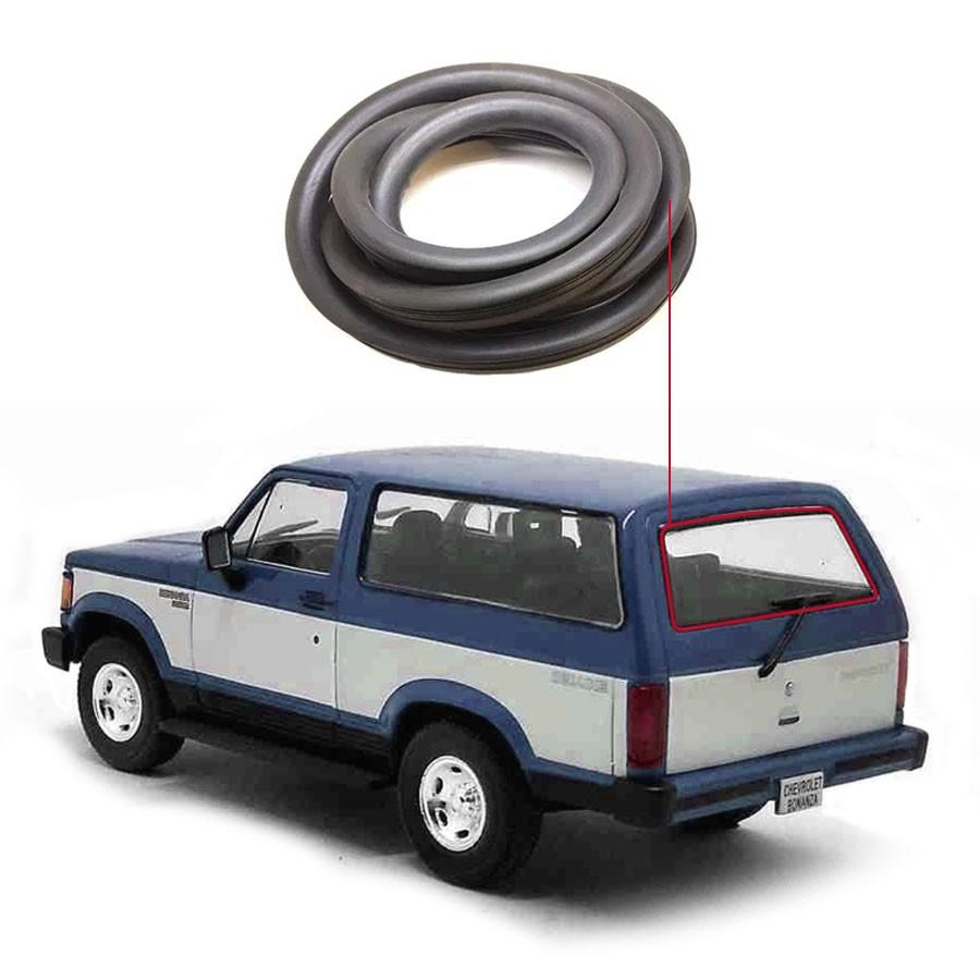 Borracha Vidro Traseiro Vigia Chevrolet Bonanza 85/94 / Veraneio 85/89 Disk-Bor