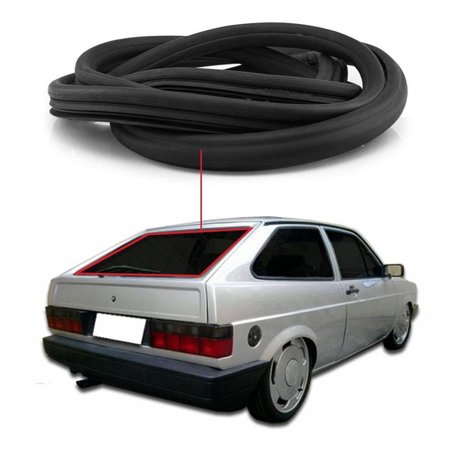 Borracha Sem Friso Vidro Traseiro Vigia Volkswagen Gol 79/94 / Parati 82/95 Centerparts