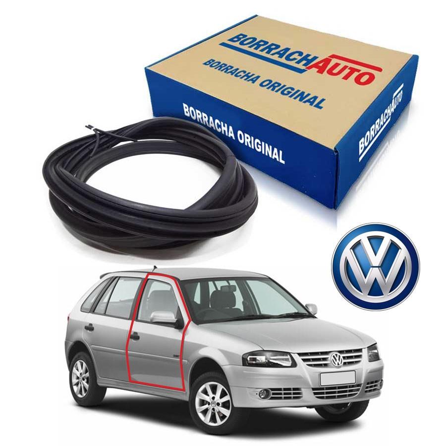 Borracha de Porta Dianteira Direita  Volkswagen Gol Bola G2 G3 G4 4 portas Borrachauto