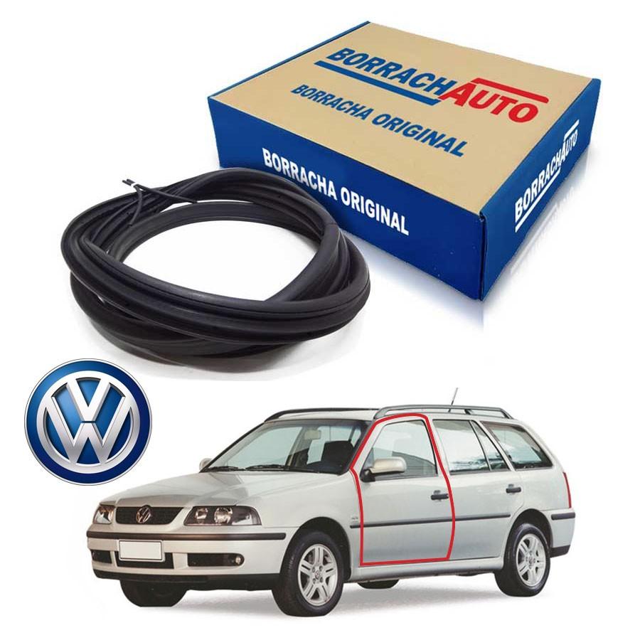 Borracha de Porta Dianteira Esquerda  Volkswagen Parati Bola G2 G3 G4 4 portas Borrachauto