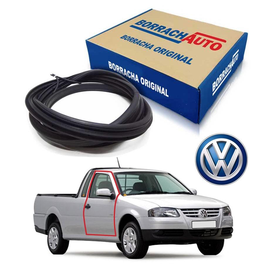 Borracha de Porta Direita  Volkswagen Saveiro Bola G2 G3 G4 2 portas Borrachauto