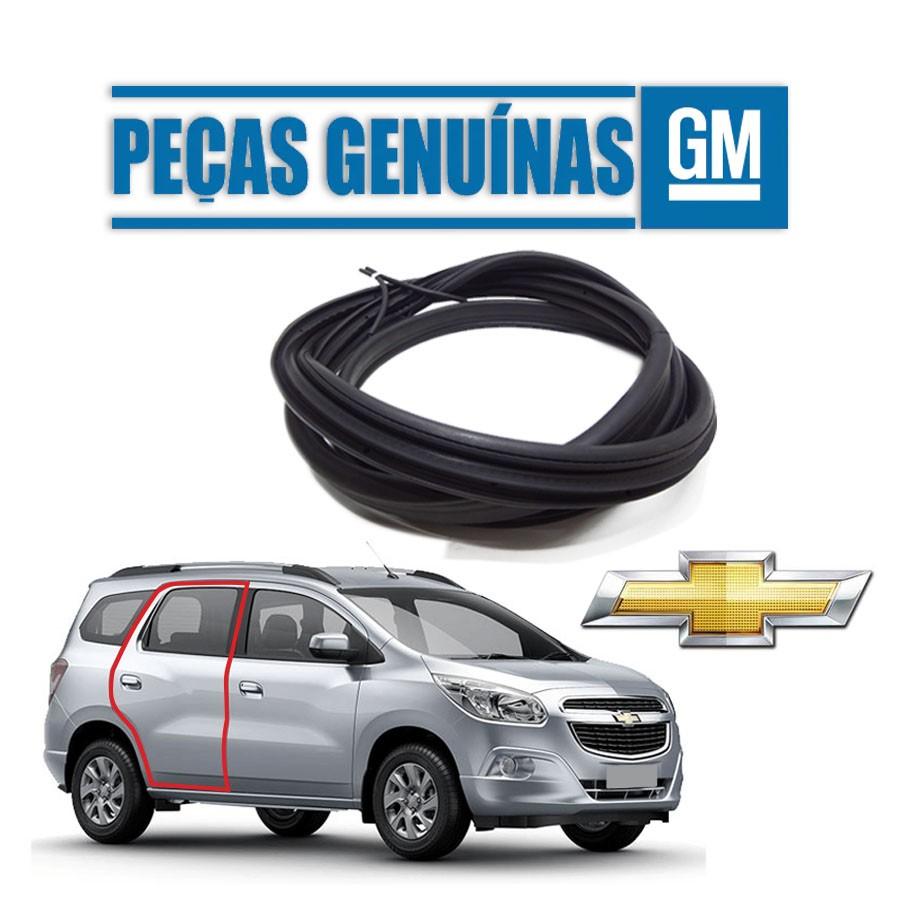 Borracha de Porta Traseira Direita Genuína Chevrolet Spin 12/20 4 portas Borrachauto