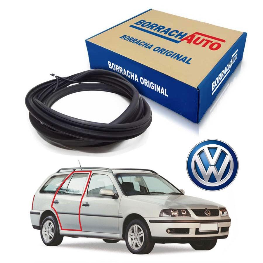 Borracha de Porta Traseira Direita  Volkswagen Parati G2 G3 G4 4 portas Borrachauto