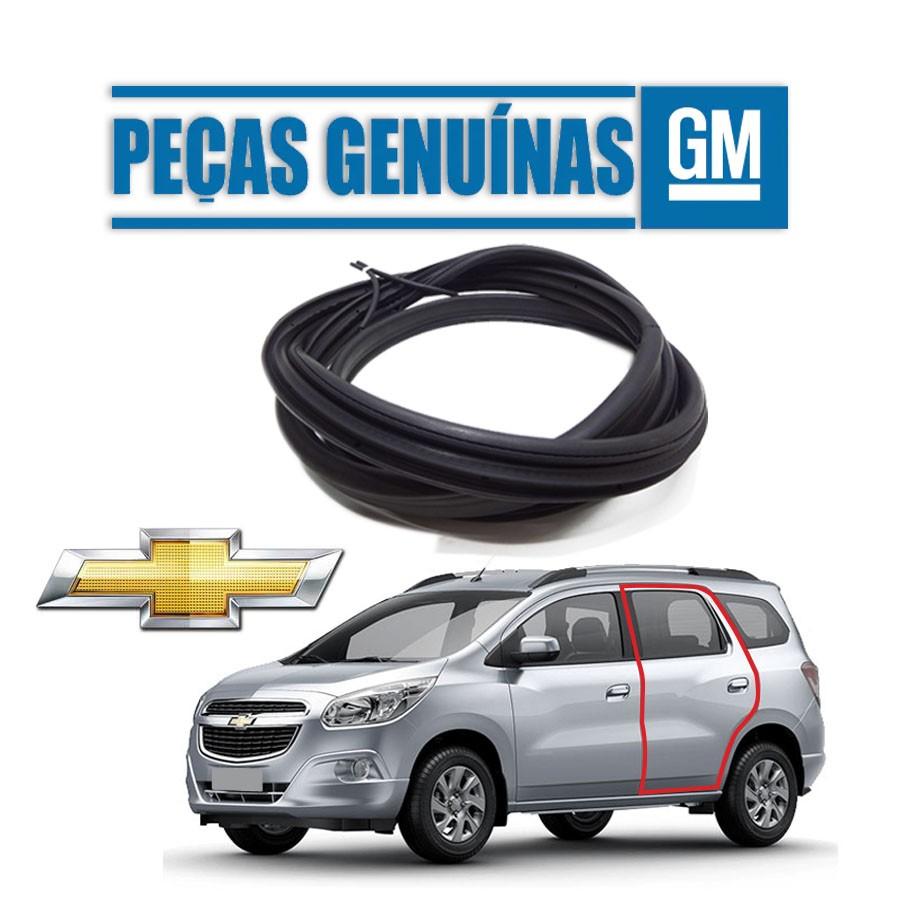 Borracha de Porta Traseira Esquerda Genuína Chevrolet Spin 12/20 4 portas Borrachauto