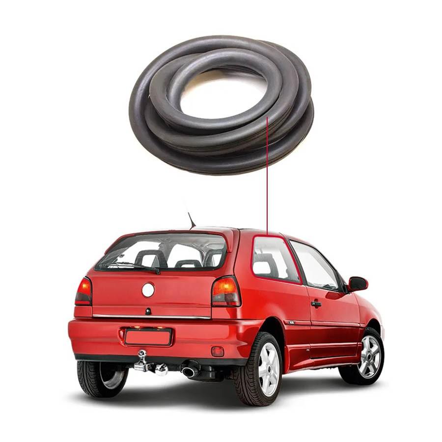 Borracha Janela Fixa Traseira Esquerda Volkswagen Gol Bola, G3 e G4 95/14 Centerparts