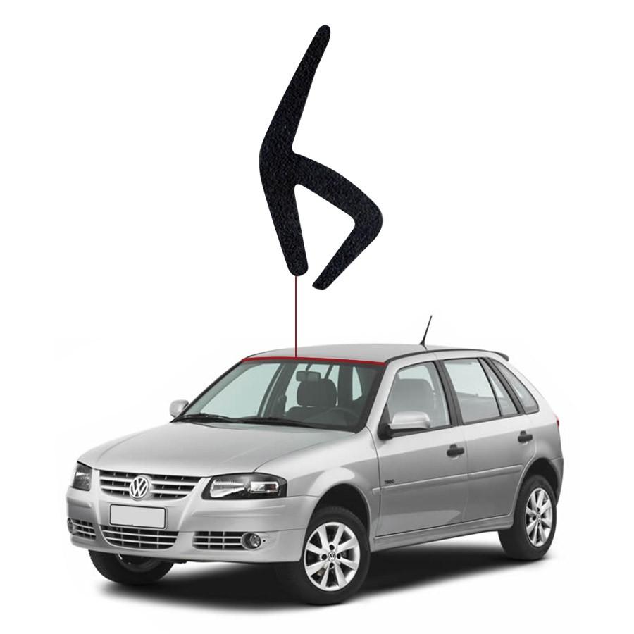Borracha Perfil H para Parabrisa Superior Volkswagen Gol Rolo 25 Metros BSB