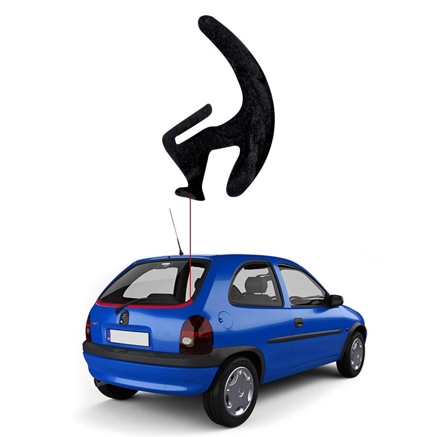 Borracha Perfil H para Vidro Vigia Inferior Chevrolet Corsa 96/00 Rolo 25 Metros BSB