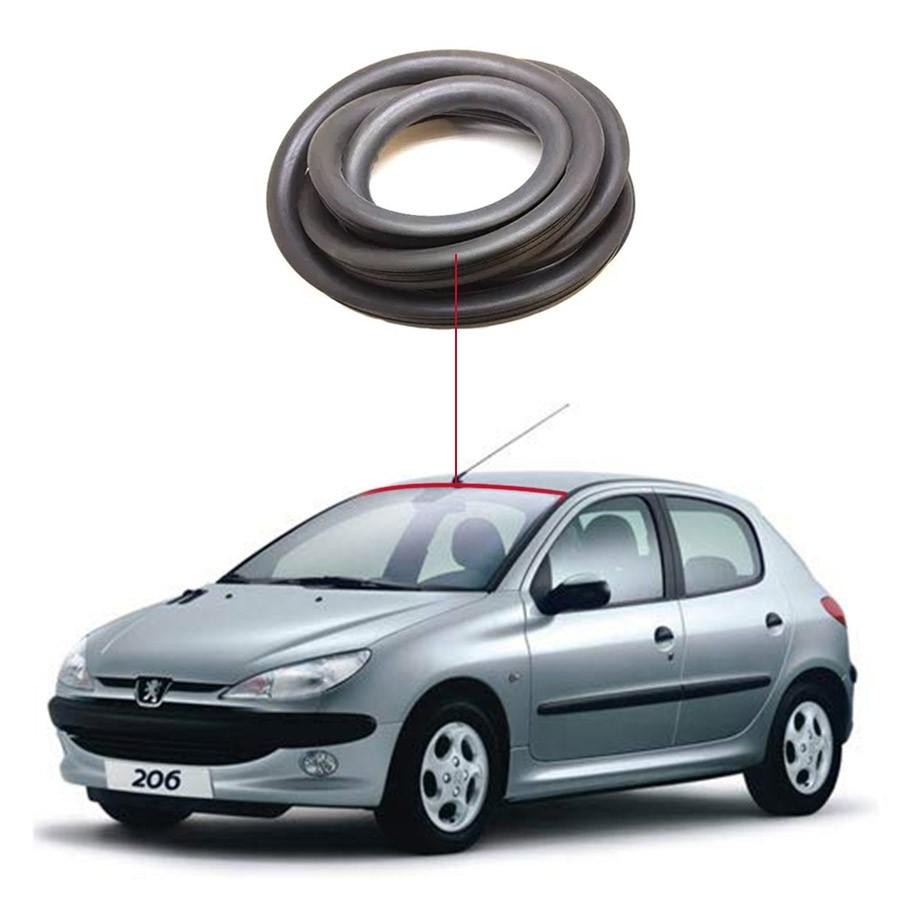 Borracha Superior Vidro Parabrisa Peugeot 206 99/09 / 207 10/16 / Hoggar 10-16 Disk-Bor