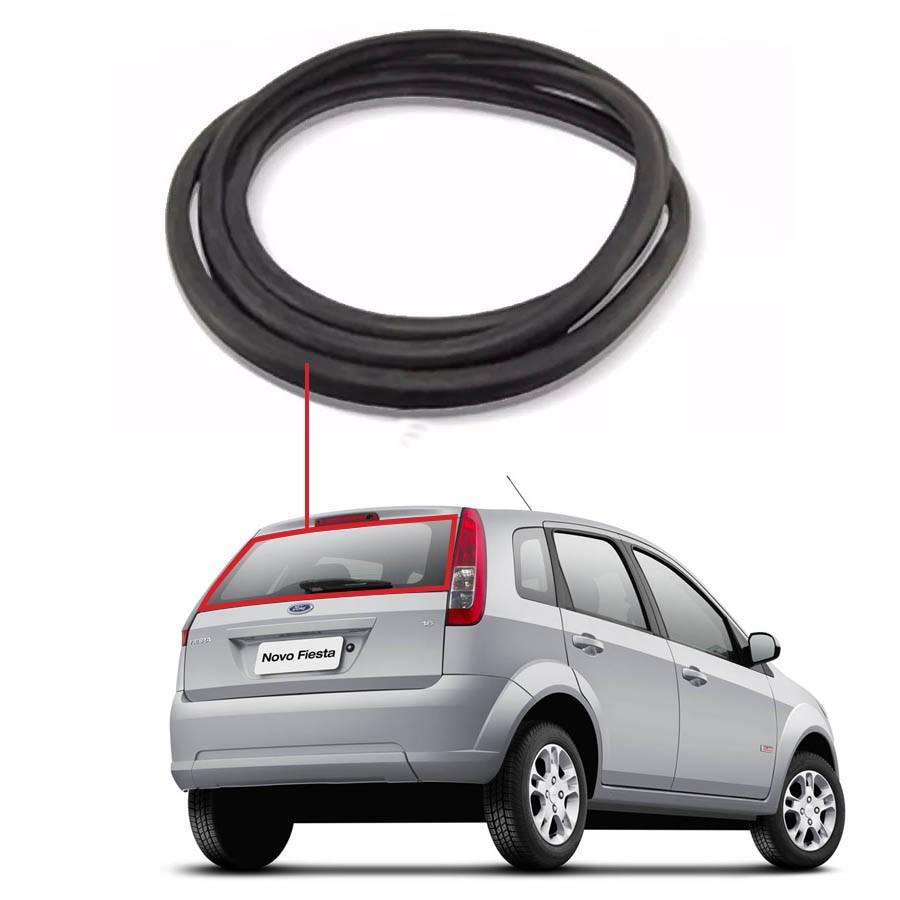Borracha Vidro Traseiro Vigia Ford Fiesta Amazon 02/12 Disk-Bor