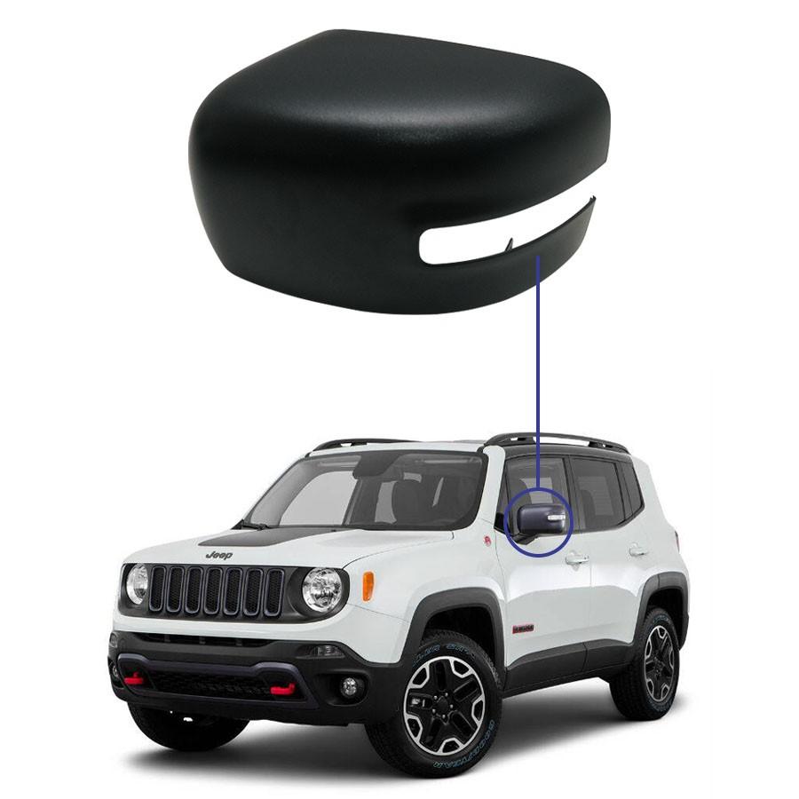 Capa para Retrovisor Jeep Renegade 15/... Lado Esquerdo Motorista Originall