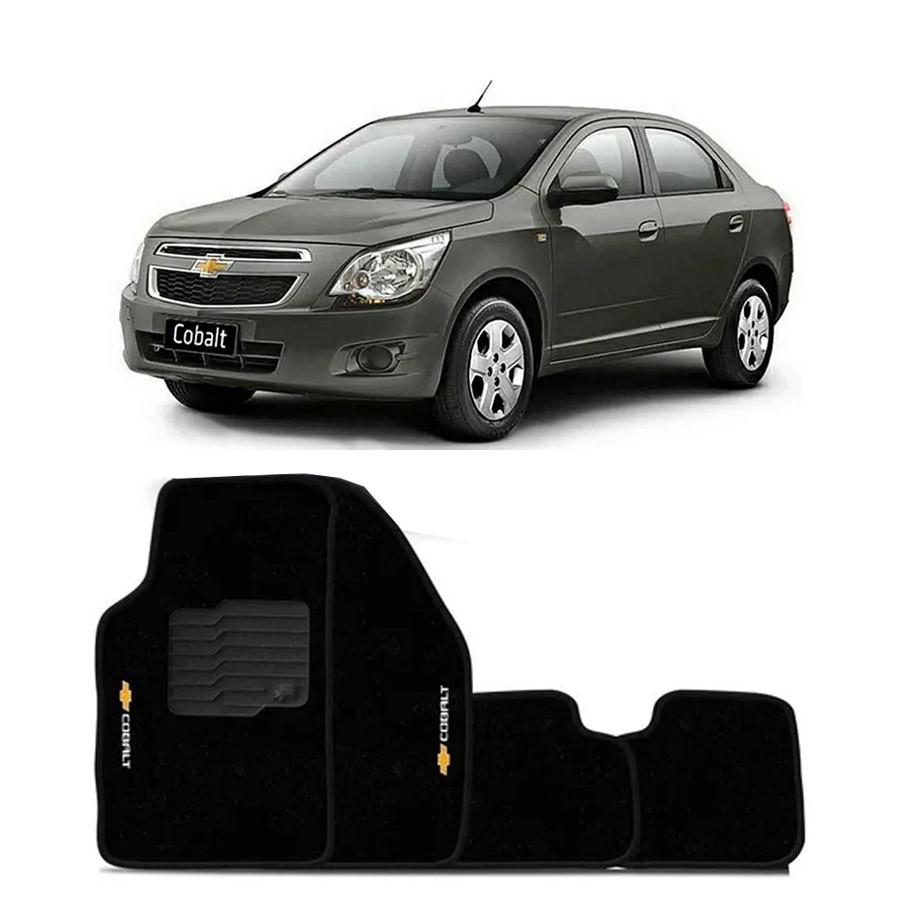 Jogo de Tapete Automotivo de Carpete Chevrolet Cobalt 11/15 Ecotap