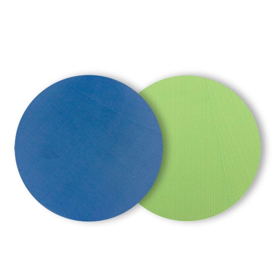 Kit de Lixas de Polimento para Vidros Chassi e Risco Azul e Verde