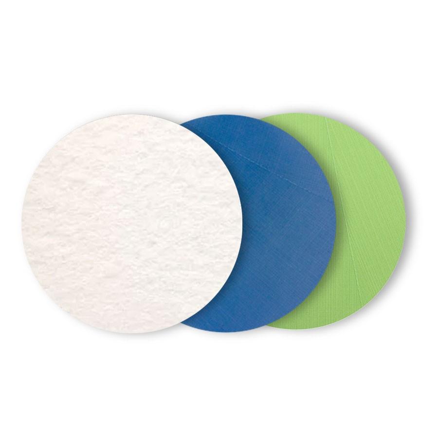 Kit de Lixas de Polimento para Vidros Chassi e Risco Branca Azul Verde